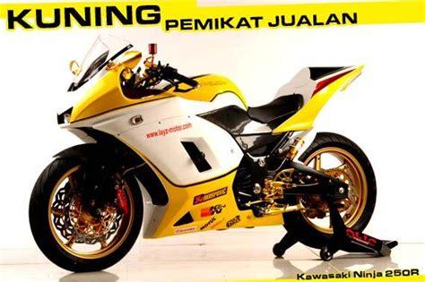 Lu Tembak Motor Kuning modif 250 kuning quot spektakuler quot tenan iki rek