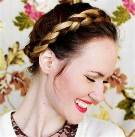 Crown Braid Hairstyles by 101 Easy And Unique Hairstyles For Hair