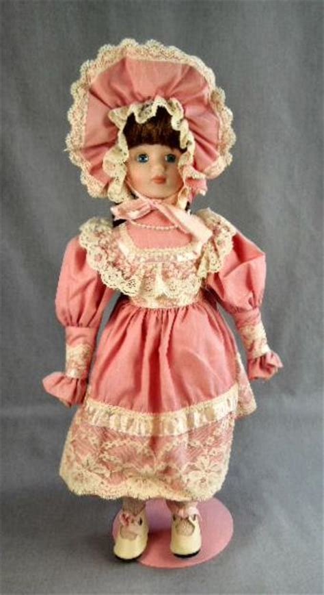 princess house porcelain dolls princess house katrina 16 inch doll w stand ebay