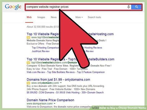 ways  buy  cheap domain  wikihow