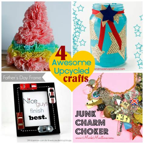 upcycled craft ideas four awesome upcycled crafts dollar store crafts