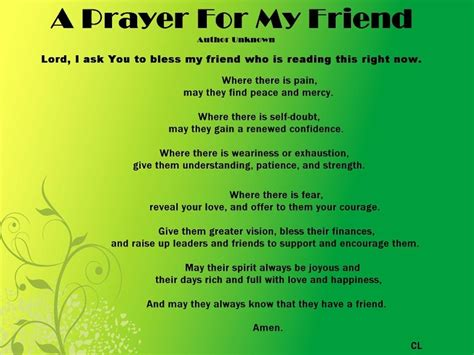 Prayer To Comfort Someone by Pray For Your Friends Quotes Quotesgram