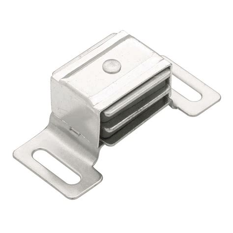 Magnetic Closet Door Latch Liberty 2 3 8 In Aluminum Magnetic Door Catch C082m2c Al P1 The Home Depot