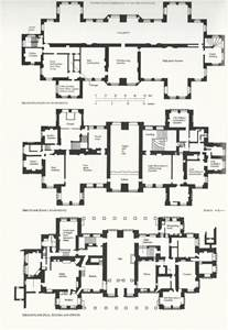 mansion floor plans castle hardwickplan houseplans mansions and castles