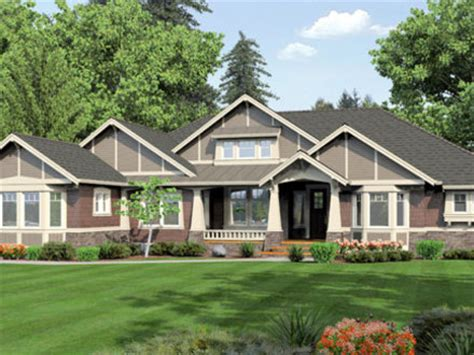 large ranch homes craftsman one story ranch house plans one story ranch