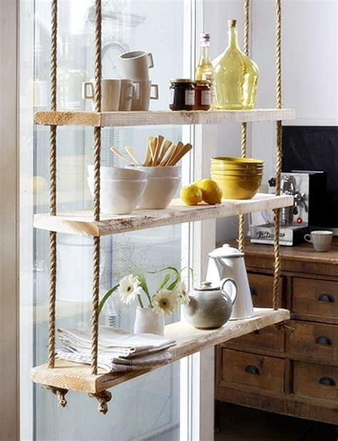 hanging selves decorating with hanging shelves design beyond limits