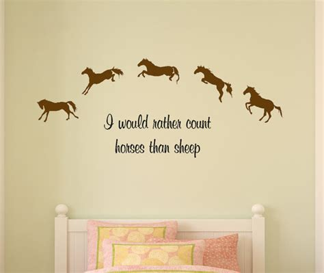 horse decal pony quote wall sticker teen girls room decal horse decal horse quote childs room wall sticker girls bedroom