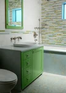 green bathroom cabinets bright green bathroom on 1930s semi lime