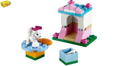 dog house instructions lego friends poodle s little palace 41021 series 2 review