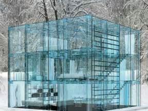 haus aus glas glass house carlo santambrogio and ennio arosio