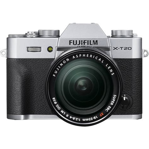 Kamera Mirrorless Fuji fujifilm x t20 mirrorless digital with 18 55mm 16542622