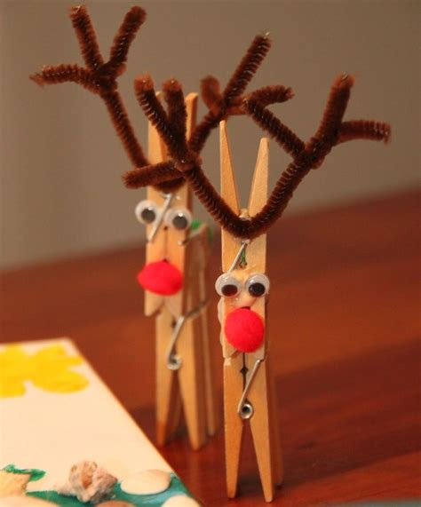 best art of santa and eight teindeer 32 best images about clothes pin for on more reindeer dinosaur crafts and