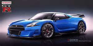 R36 Nissan Nissan Gt R R36 Concept Blue By Rookiejeno On Deviantart