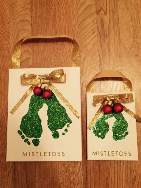 mistletoe craft for 25 best ideas about mistletoe footprint on