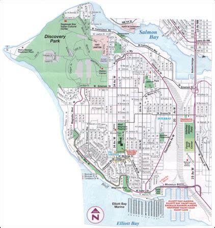 seattle map magnolia seattle real estate seattle neigborhoods seattle wa