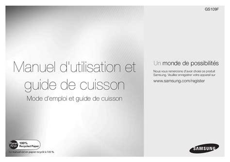 Manuel D Utilisation Samsung A10 by Mode D Emploi Four Micro Onde Samsung Gs109f S Trouver Une Solution 224 Un Probl 232 Me Samsung Gs109f