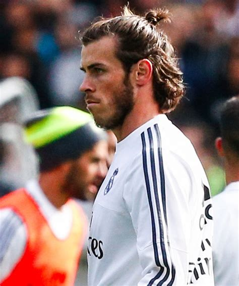 gareth bale long hair new gareth bale man bun hairstyle with long hair pictures