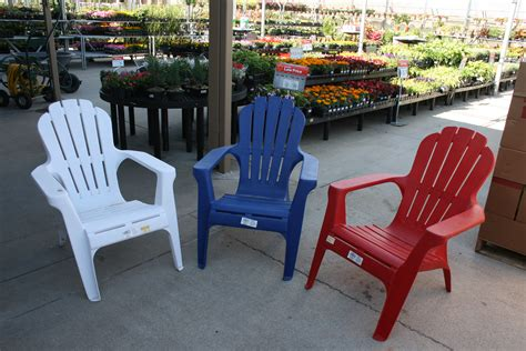 patio plastic adirondack chairs home depot  simple