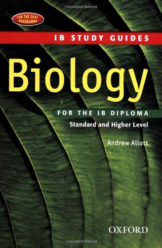 libro biology study guide oxford libro ib biology course book oxford ib diploma programme di andrew allott david mindorff