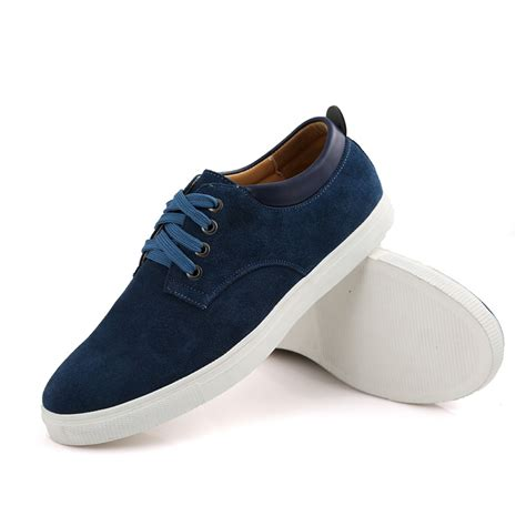 mens comfortable sneakers men s suede leather comfortable casual shoes big size male