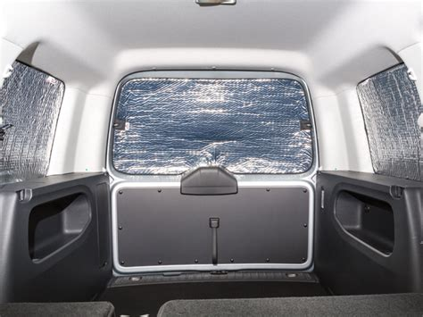 Caddy Fenster Sichtschutz brandrup isolite 174 inside volkswagen caddy