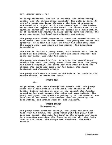 film one fine day screenplay short film script 3rd draft
