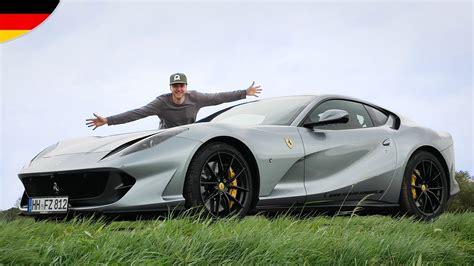 Ferrari 812 Superfast Youtube by Mein Erstes Mal Im Ferrari 812 Superfast Youtube