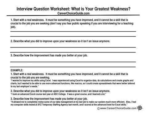 interview skills what are your weaknesses unbeatable answer