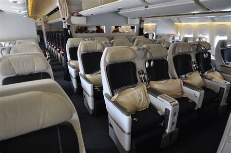novas cabines premium economy e business da air