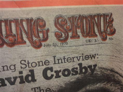 david crosby autograph david crosby rolling stone magazine 1970 signed autograph