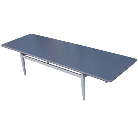 Modern Rectangular Coffee Table Lovely Modern Grey On Grey Rectangular Lacquered Coffee Table For Sale At 1stdibs