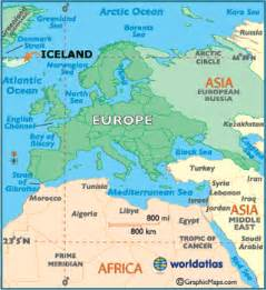 Iceland Map Europe by Iceland Map Geography Of Iceland Map Of Iceland