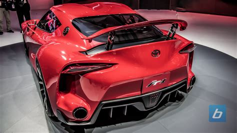toyota ft1 concept toyota ft 1 at the chicago auto show supramkv 2018