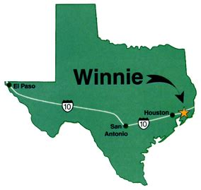 winnie texas map area map winnie area chamber of commerce