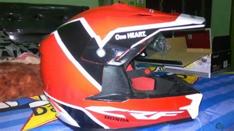 Helm Crf150l review helm honda crf dan ini beratnya kawan
