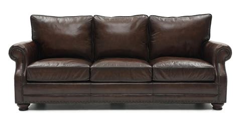 top grain leather furniture princeton top grain leather sofa weir s furniture