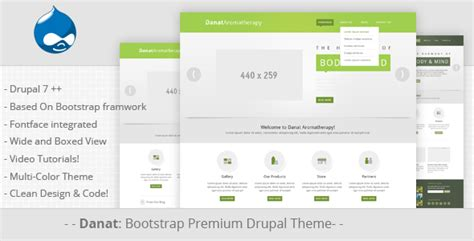 drupal themes not working danat responsive drupal theme tabvn