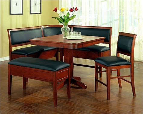 nook dining room set counter height dining nook house designing pinterest