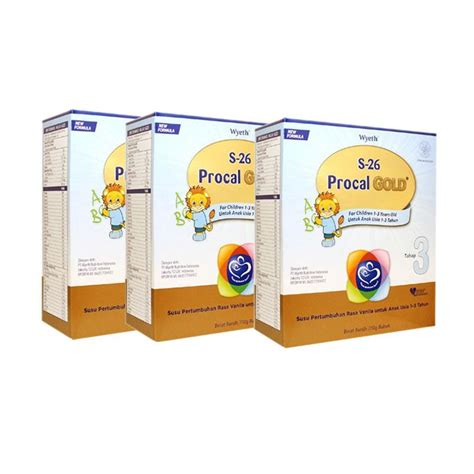S26 Procal Gold 700 G by Jual S26 Procal Gold Formula 700 G 3 Dus