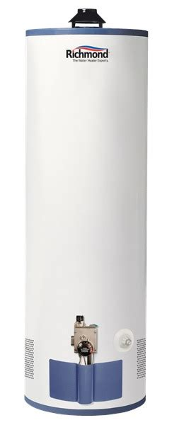richmond self cleaning water heater richmond 9g40s 40f1 40 gal natural gas water heater 9 year