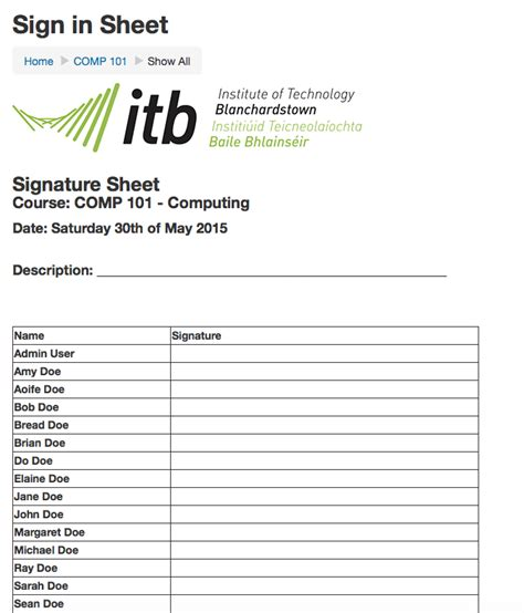 moodle plugins directory sign in sheet attendance