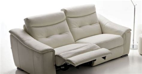 contemporary recliner sofas contemporary leather recliner sofa monza rosini