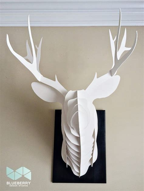 cardboard trophy template deer cardboard template free sealturbabit