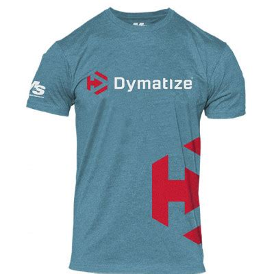Tshirt Unite Buy Side icon side logo t shirt by dymatize lowest prices at