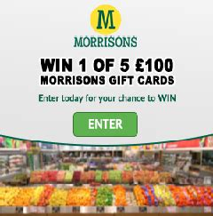 Morrisons Gift Cards - wow freebies free stuff free sles freebies for the uk