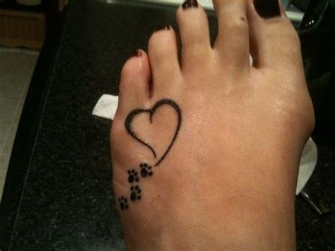 tattoo cat paws meaning put sadie s name in the heart and i might have a new tat