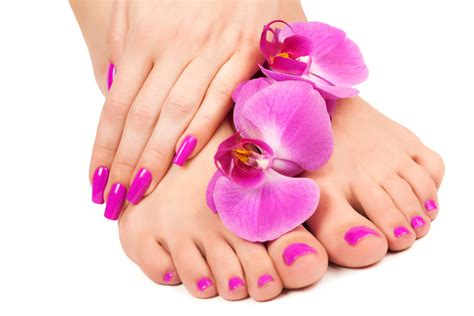 Nails Spa by Nail Salons Manicure Shellac Manicure The Spa At