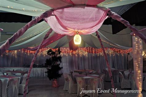 .: Wedding Dinner Decoration At Ipoh Red Crescent Hall