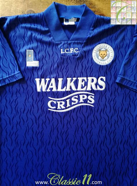 Leicester City Home 15 leicester city home football shirt 1992 1994 added on