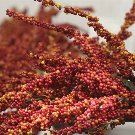 fall artificial berry garland garlands floral supplies